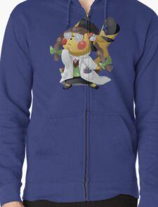 Pikachu Ph.D. Zipped Hoodie
