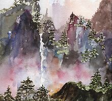 China Falls by MarkJBessermin