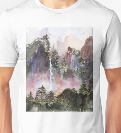 China Falls Unisex T-Shirt