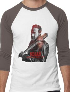 the walking dead Men's Baseball ¾ T-Shirt