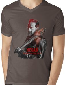 the walking dead Mens V-Neck T-Shirt