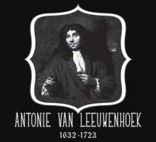Antonie van Leeuwenhoek Microbiologist by Greenbaby