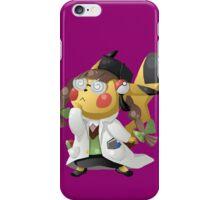 Pikachu Ph.D. iPhone Case/Skin