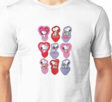 Snoopy Be My Valentine Unisex T-Shirt