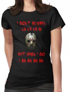 Jason Mask Womens Fitted T-Shirt