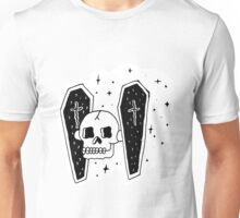 Skull Wars Tie Fighter Unisex T-Shirt