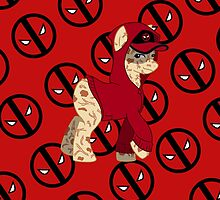 Marvel Pony Wade Wilson by AdrianaC