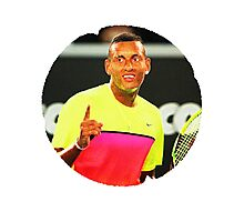 Nick Kyrgios Photographic Print