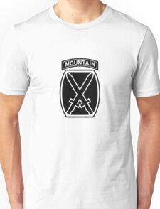 10th Mountain Division Unisex T-Shirt