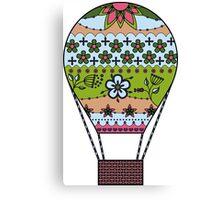 Air balloon colorful Canvas Print