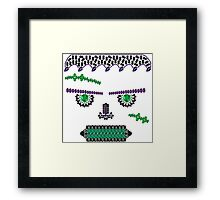 Frank Fright Framed Print