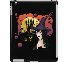 Castle and Witch iPad Case/Skin