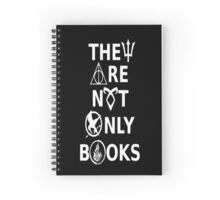 Not only books Spiral Notebook