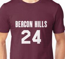 Stiles Stilinski 24 Beacon Hills Cyclones Unisex T-Shirt