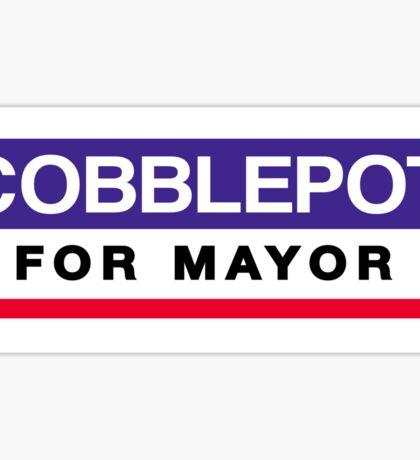 Cobblepot for Mayor Sticker