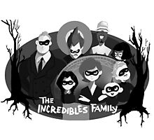 The Incredibles Family  Photographic Print