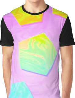 psychedelic pentagons Graphic T-Shirt