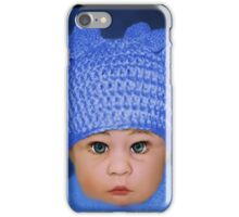 ADORABLE BABY BLUE CHILDRENS PILLOWS AND OR TOTE BAG iPhone Case/Skin