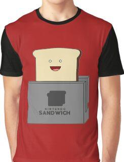 Nintendo Sandwich (Nintendo Switch Parody) Graphic T-Shirt