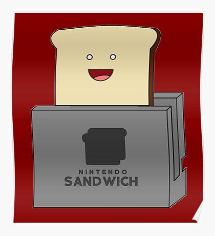 Nintendo Sandwich (Nintendo Switch Parody) Poster