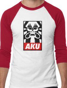 Obey AKU Men's Baseball ¾ T-Shirt