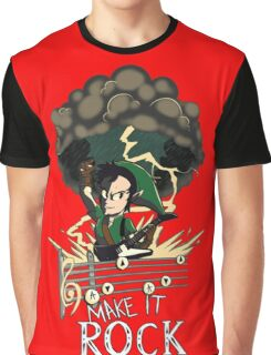 Song of Storms Rock Graphic T-Shirt
