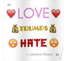 Love Trumps Hate - Version 1 Poster