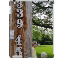 339 45 iPad Case/Skin