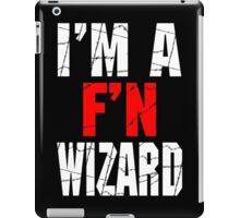 F'N Wizard iPad Case/Skin