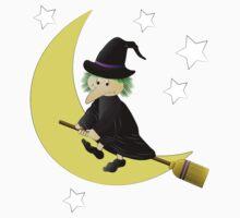 Halloween Witch Kids Tee