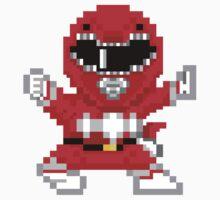 Red Ranger Baby Tee