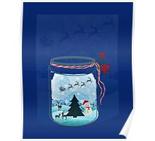Christmas in Jar Poster