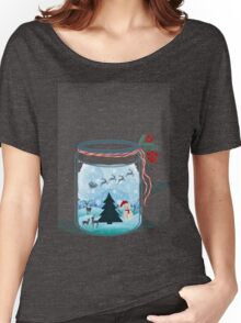 Christmas in Jar Women's Relaxed Fit T-Shirt