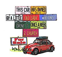 One careful Beetle Owner by Sharon Poulton