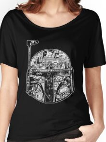 Boba Fett - Collage Women's Relaxed Fit T-Shirt