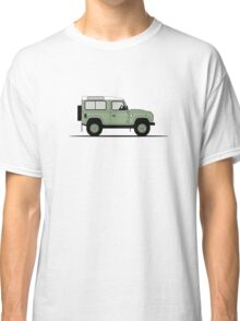 A Graphical Interpretation of the Defender 90 Station Wagon Heritage Edition Classic T-Shirt