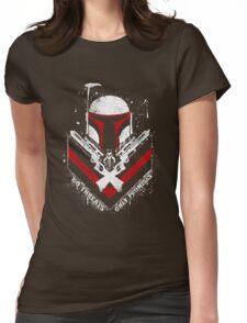 Boba Fett - Only Promises Womens Fitted T-Shirt