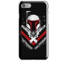Boba Fett - Only Promises iPhone Case/Skin