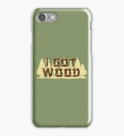 Shaun Ed I Got Wood iPhone Case/Skin