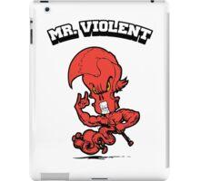 Mr.Violent (Cinnabar) iPad Case/Skin