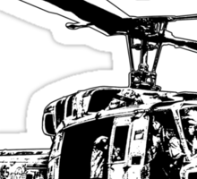 UH-1N Twin Huey Sticker