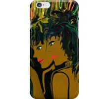 Mother and Daughter Out For The  Evening iPhone Case/Skin