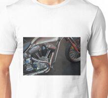 Close up on motorcycle body Unisex T-Shirt