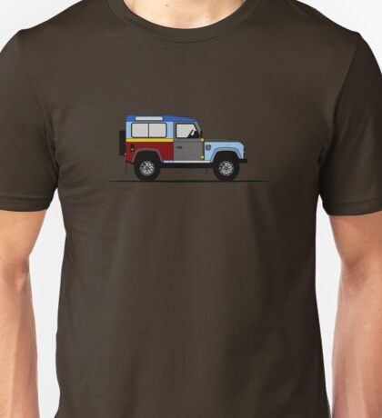 A Graphical Interpretation of the Defender 90 Station Wagon Paul Smith Unisex T-Shirt