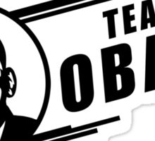 Team Obama Sticker