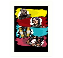 Back to the Borderlands Art Print
