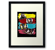 Back to the Borderlands Framed Print