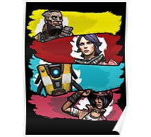 Back to the Borderlands Poster