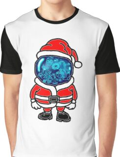 Christmas Space Graphic T-Shirt