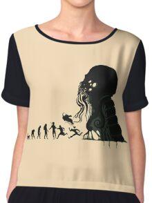 Lovecraft Darvinian Chiffon Top